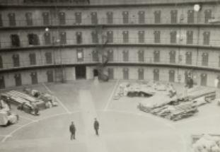 Panopticon Prison Haarlem right before opening in 1901 (Photo by Noord-Hollands Archief)