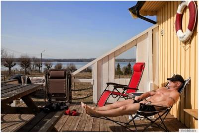 Bastøy in the summer
